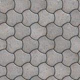 铺路板。无缝的Tileable纹理。 免版税库存图片