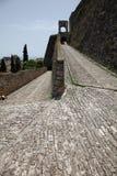 铺路石在堡垒 图库摄影
