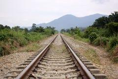 铺铁路 免版税库存图片
