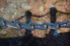 链子和阴影 库存图片