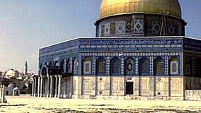 链子的圆顶清真寺和圆顶 股票录像