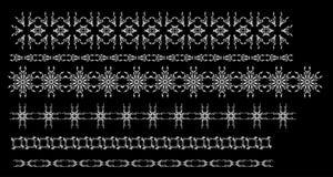 链子设计要素六 库存照片