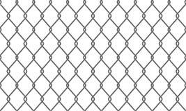 链子链接篱芭或铁丝网样式背景 向量例证