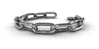 链子 向量例证