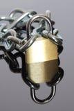 链挂锁 库存照片