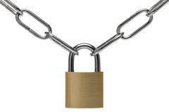 链挂锁 免版税图库摄影