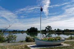 链接公园,莫图伊卡,新西兰 免版税库存图片