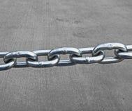 链接的链子 免版税库存图片
