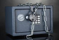 链锁定安全 图库摄影