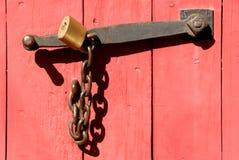 链锁定 库存照片