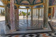 链建筑学耶路撒冷的圆顶 图库摄影