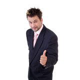销售人员年轻人 免版税库存图片