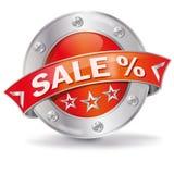 销售和百分比 免版税库存照片
