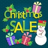 销售圣诞节 图库摄影