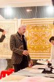 销售在意大利纺织品设计图中国  免版税库存图片