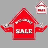 销售房子 图库摄影