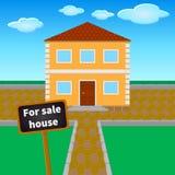 销售房子 免版税库存图片