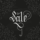 销售手拉的设计 免版税图库摄影