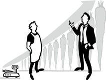 销售教练 免版税图库摄影