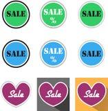 销售标志 免版税库存照片