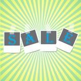 销售框架设计传染媒介 免版税库存图片