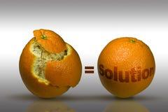 销售解决方法的想法 库存图片