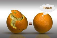 销售解决方法的想法 免版税库存图片