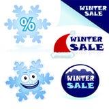 销售额冬天 向量例证