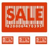 销售额标签 免版税图库摄影