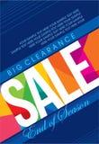 销售购物背景和标签企业促进的 免版税库存图片