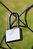 锁一 免版税库存图片