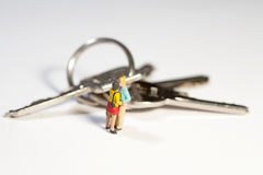 锁上新的生活方式 免版税库存照片
