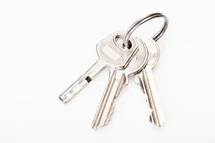 锁与钥匙 免版税库存照片