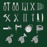 锁匠工具 库存照片