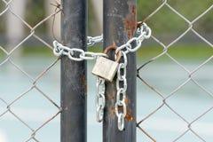 锁在链子 免版税库存图片