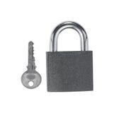 锁定和关键字 免版税库存图片