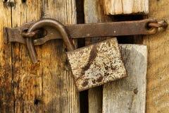 锁定开放工具 图库摄影