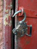 锁定开放 库存照片