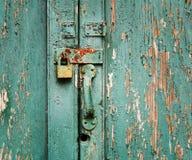 锁定未使用 免版税图库摄影