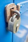 锁定金属 免版税图库摄影