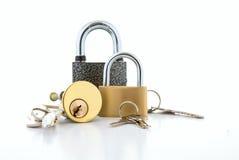 锁的汇集 图库摄影
