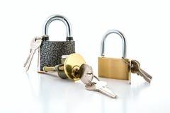 锁的汇集 库存照片