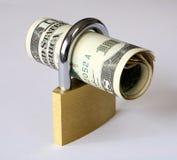 锁着的值 免版税库存图片