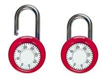 锁着的号码锁开放和 免版税图库摄影