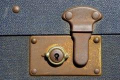 锁着的手提箱 库存照片