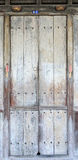 锁着的木门 图库摄影