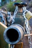锁着的管道 免版税库存图片