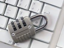 锁着的键盘, 图库摄影