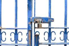 锁着的门 库存照片
