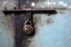锁着 免版税图库摄影